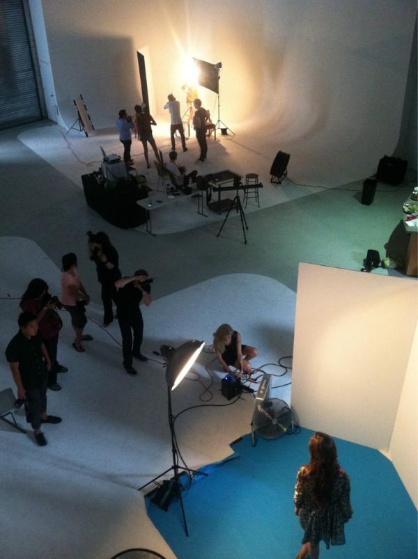 BTS of: NYC Workshop 2012