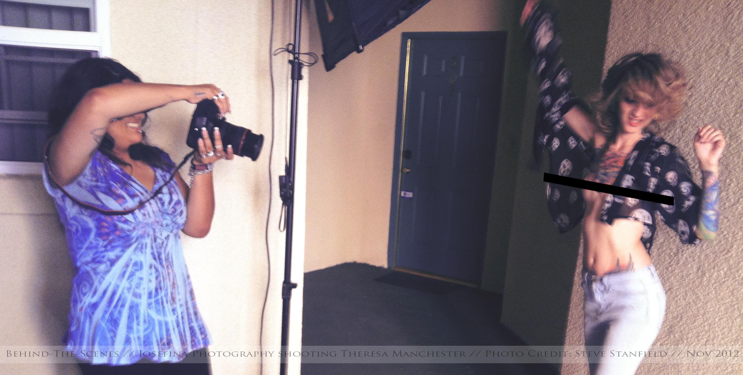 BTS of: Magazine Shoot 2012