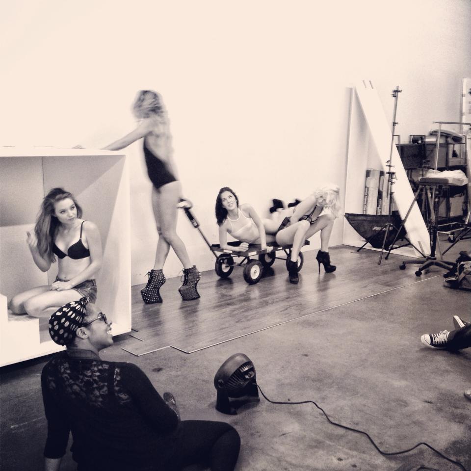 BTS of: LUCIMA's Workshop 2013