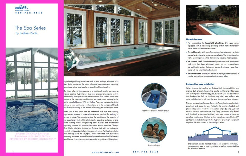 Endless Pools Brochure