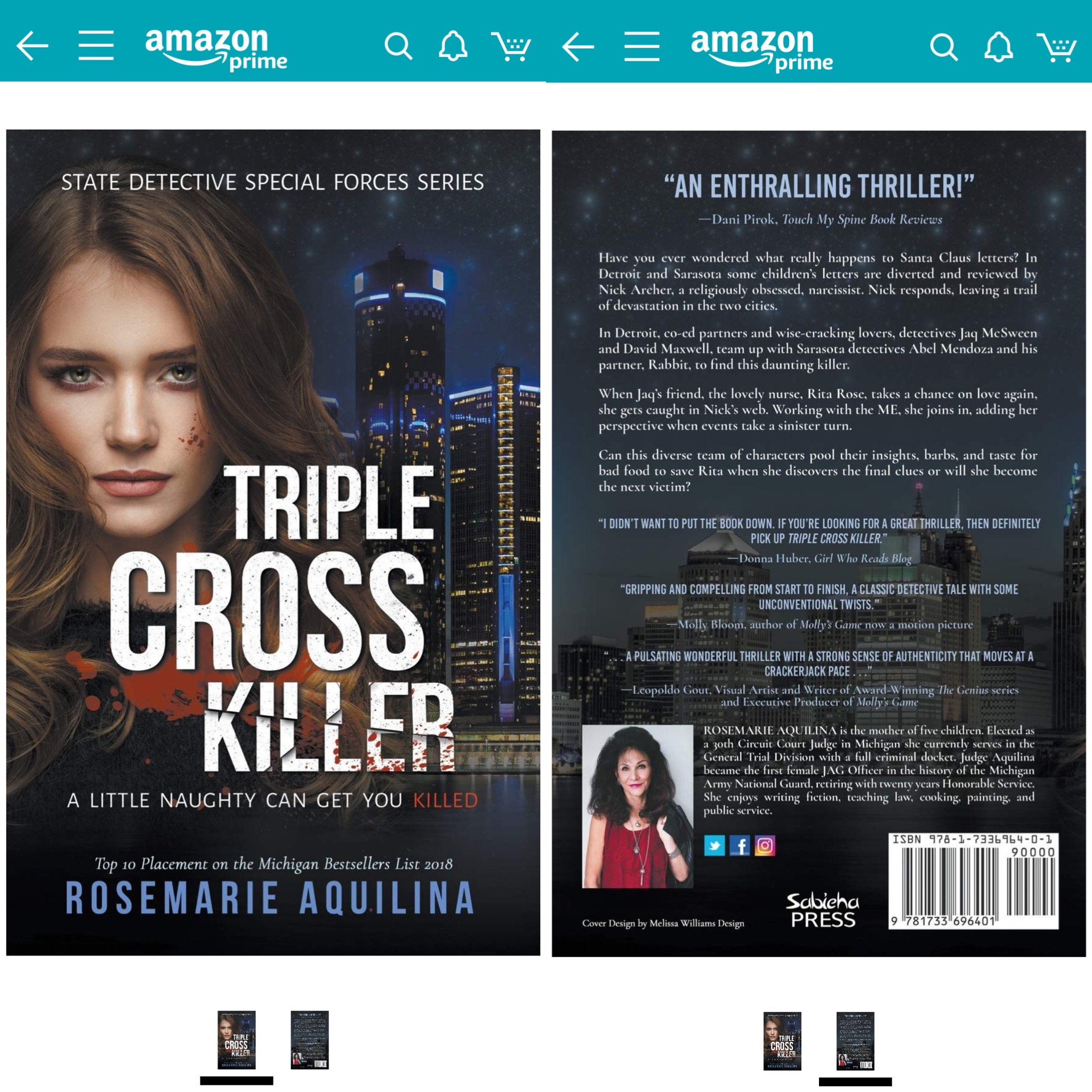 Triple Cross Killer Author Shot
