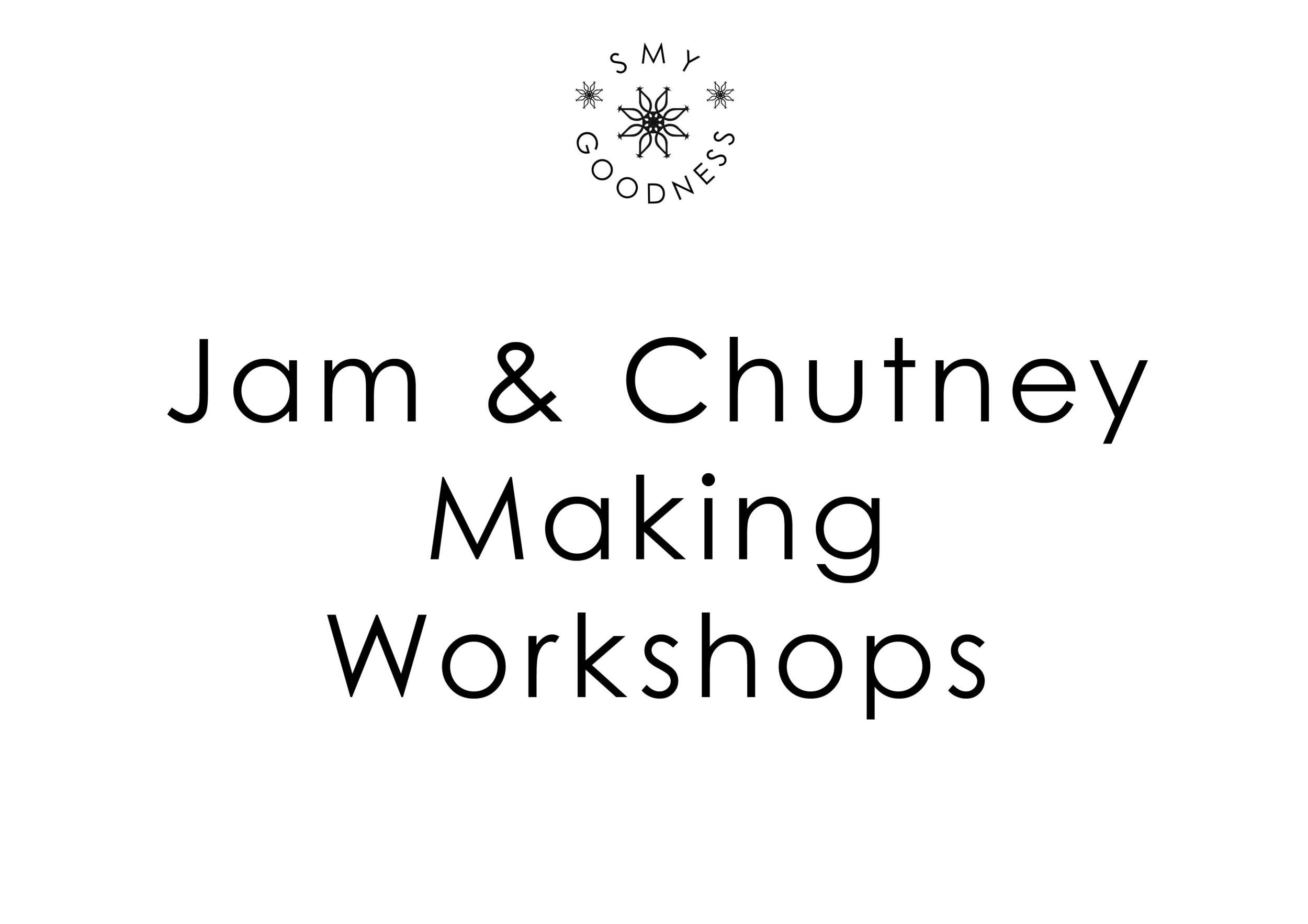 Jam & Chutney Making Workshops