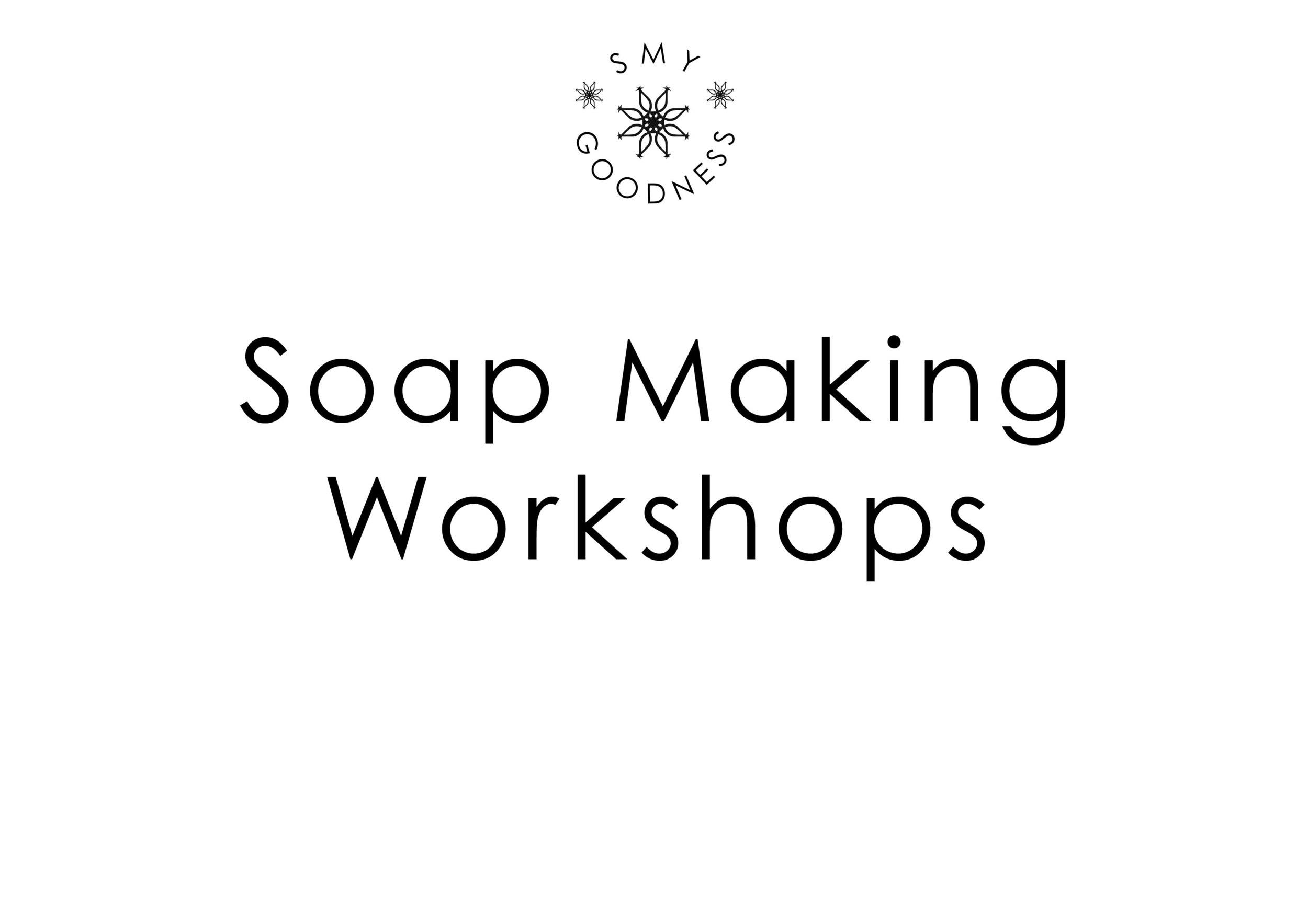 Soap Making Workshops