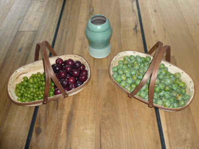 Gooseberries, Plums and Greengages