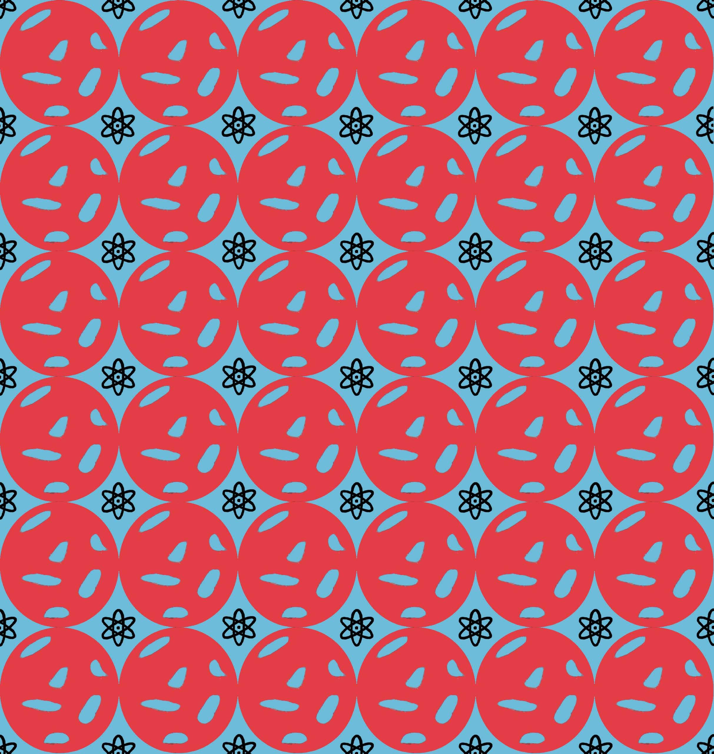 Atomic Blue Spot