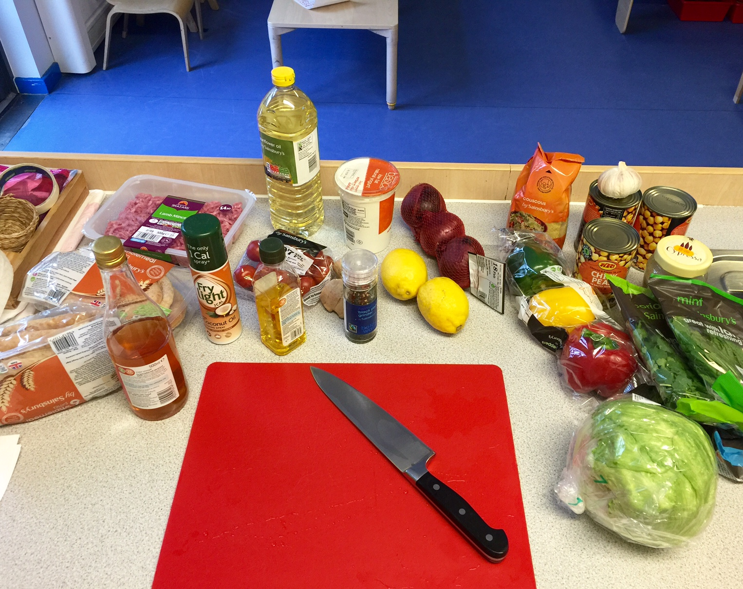 ingredients for the Turkish feast