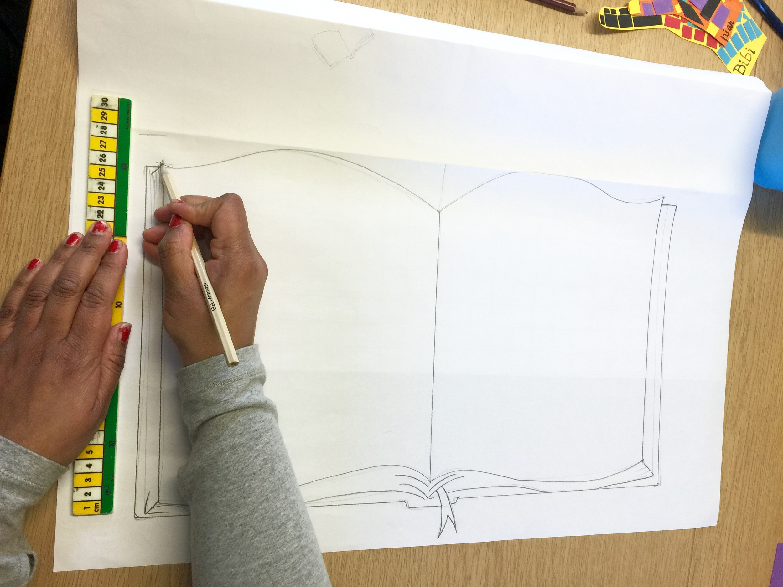 Week 2 - making templates for mosaic pieces