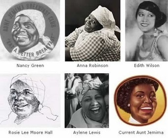 The evolution of Aunt Jemima