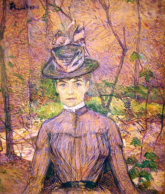 Toulouse Lautrec - Portrait of the Artist Suzanne Valadon , c. 1885