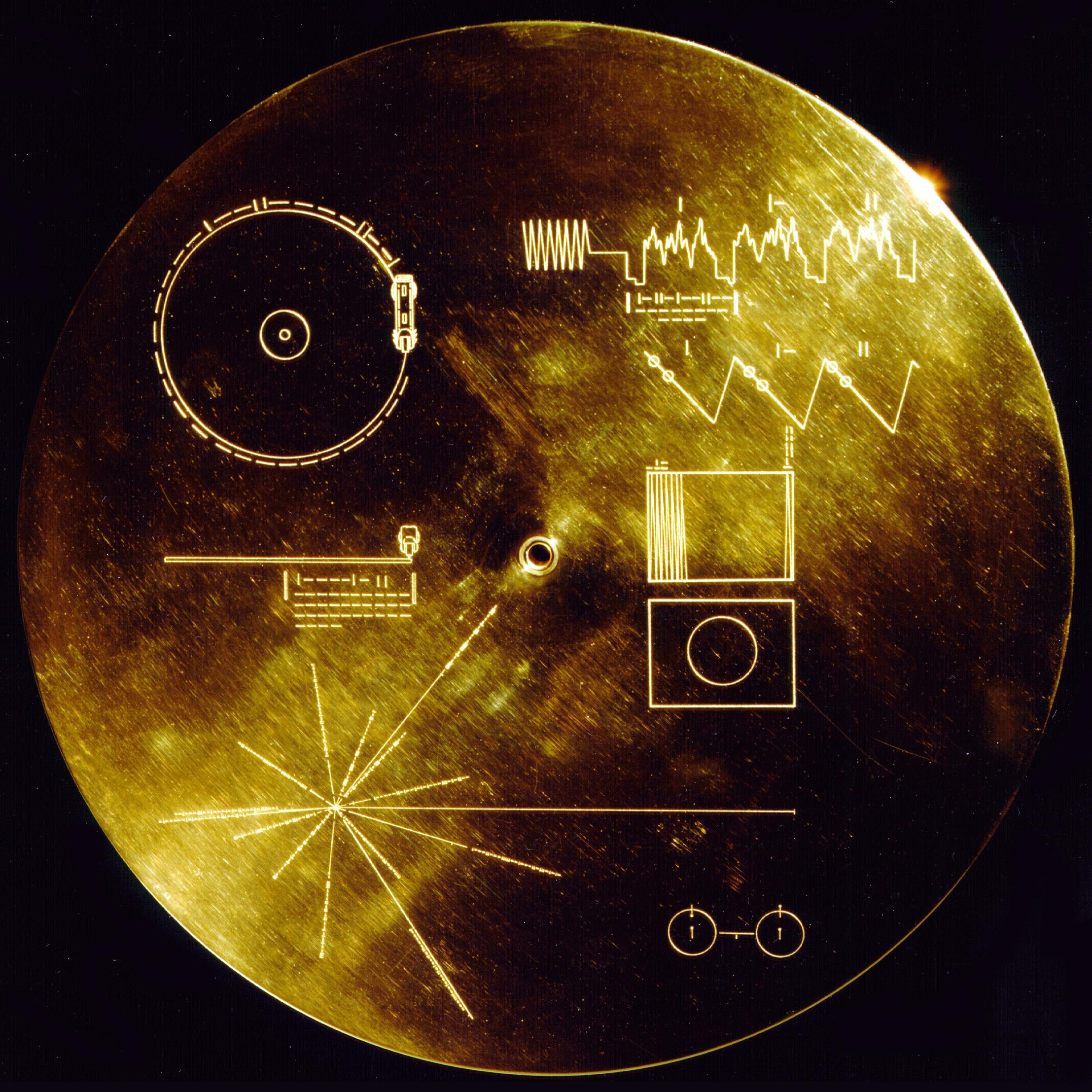 NASA Voyager Golden Record  cover