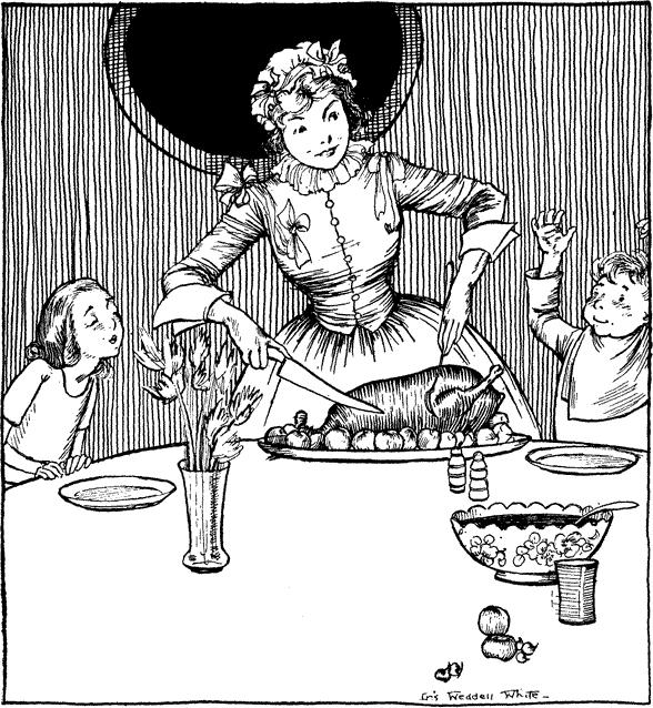 Iris Weddell White illustration