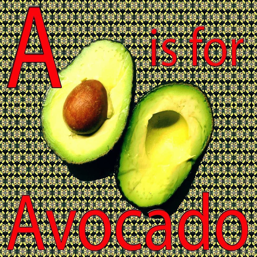 """ is for Avocado. Working on resources. Getting hungry.#avocado #alphabet #fruit #vegetables #pattern #print #art #tutor #food #workshop #resources #learning #instagood #smygoodness #smygoodnessprints #smygoodnessworkshops.jpg"