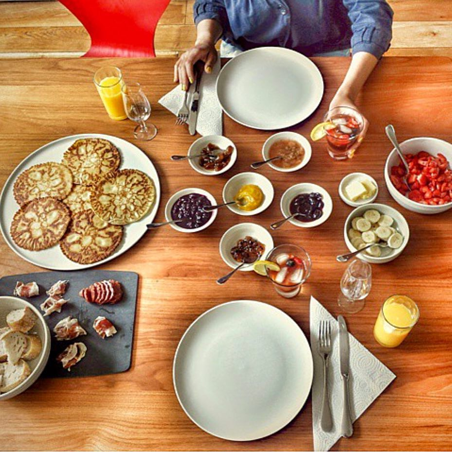 my Goodness pancake brunch - photo by  @elcidre