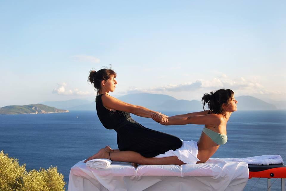 Aristea Zougri  of  Althea Massage Therapy and Yoga