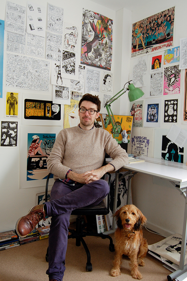 Hello, - I'm Steve and I'm an illustrator, comic book author and animator. My style is colourful, bold and sprinkled with wholesome flakes of humour.My work tells stories, sells shoes, makes you laugh, wins awards, gives me a sense of enormous well-being and jumps around with jiggly lines.ClientsApple, Fast Company, The Guardian, Google, Samsung, Nike, The Times, BBC, The Washington Post, VICE, Ogilvy, MTV, Vans, Coca Cola, Time, GQ, The Spectator, Virgin Media and many more.