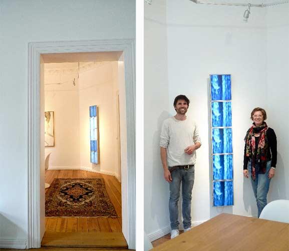 Florian Uthoff Installer and Petra Rietz Gallerist