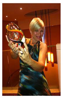 Getting the NATOA Award