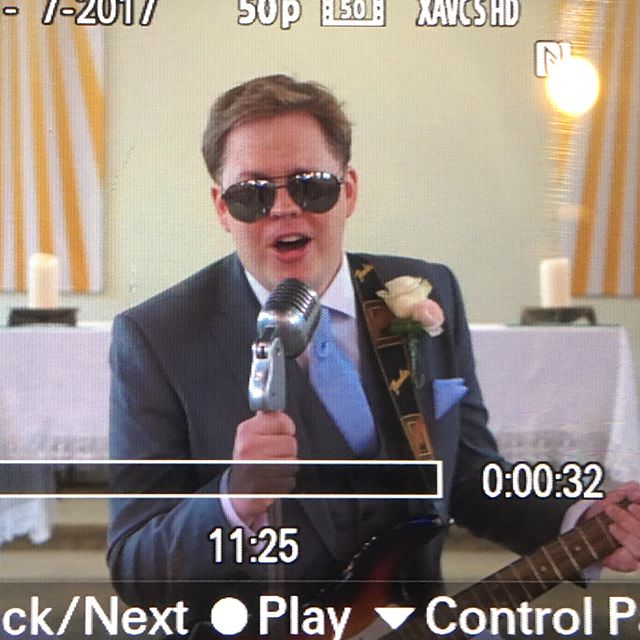 It's happening. Our first Bryan Adams marryoke. There's nothing better than a groom rocking the Summer of '69 at full blast in a church and the girls putting in an awesome performance at the preps. Now onto Orsett Hall Hotel for the rest of the day. Can't wait. #weddingmarryoke #marryoke #movingmediafilms #summer #summerof69 #orsetthall