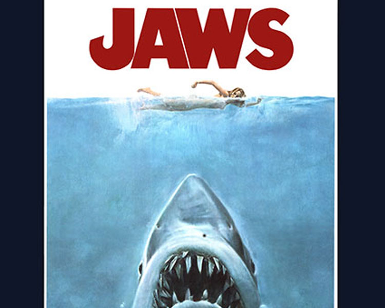 Jaws - A giant great white shark arrives on the shores of a New England beach resort and wreaks havoc with bloody attacks on swimmers, until a local sheriff teams up with a marine biologist and an old seafarer to hunt the monster down.Rated PG for adult situations/language and violenceSaturday, June 17 | 8 p.m.