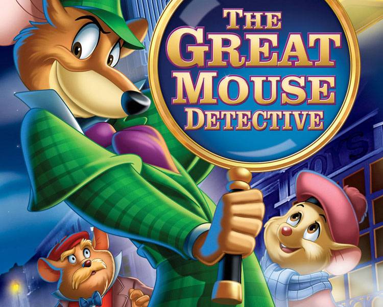 The Great Mouse Detective - Basil, the rodent Sherlock Holmes, investigates the kidnapping of a toy-maker and uncovers its link to his arch-enemy, Professor Ratigan.Rated GFriday, July 14 | 7:30 p.m.