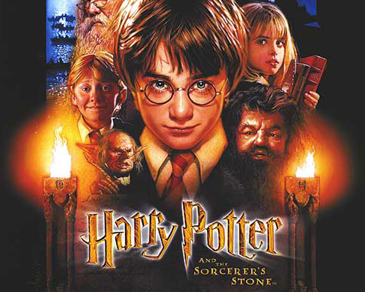 Harry Potter and the Sorcerer's Stone - This is the tale of Harry Potter, an ordinary 11-year-old boy serving as a sort of slave for his aunt and uncle who learns that he is actually a wizard and has been invited to attend the Hogwarts School for Witchcraft and Wizardry. Harry is snatched away from his mundane existence by Hagrid, the grounds keeper for Hogwarts, and quickly thrown into a world completely foreign to both him and the viewer. Famous for an incident that happened at his birth, Harry makes friends easily at his new school. He soon finds, however, that the wizarding world is far more dangerous for him than he would have imagined, and he quickly learns that not all wizards are ones to be trusted.Rated PG for some scary moments and mild languageFriday, June 16 | 7:30 p.m.