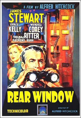 Rear Window - Hitchcock NightJuly 6A wheelchair-bound photographer spies on his neighbors from his apartment window and becomes convinced one of them has committed murder.PG   1h 52min  Mystery, ThrillerPURCHASE TICKETSTRAILER