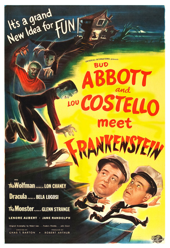 Abbott & Costello meet Frankenstein - Frightfully Funny Double FeatureJuly 14Two hapless freight handlers find themselves encountering Dracula, the Frankenstein Monster and the Wolf Man.Not Rated   1h 23min  Comedy,Fantasy,PURCHASE TICKETS (DOUBLE FEATURE)TRAILER