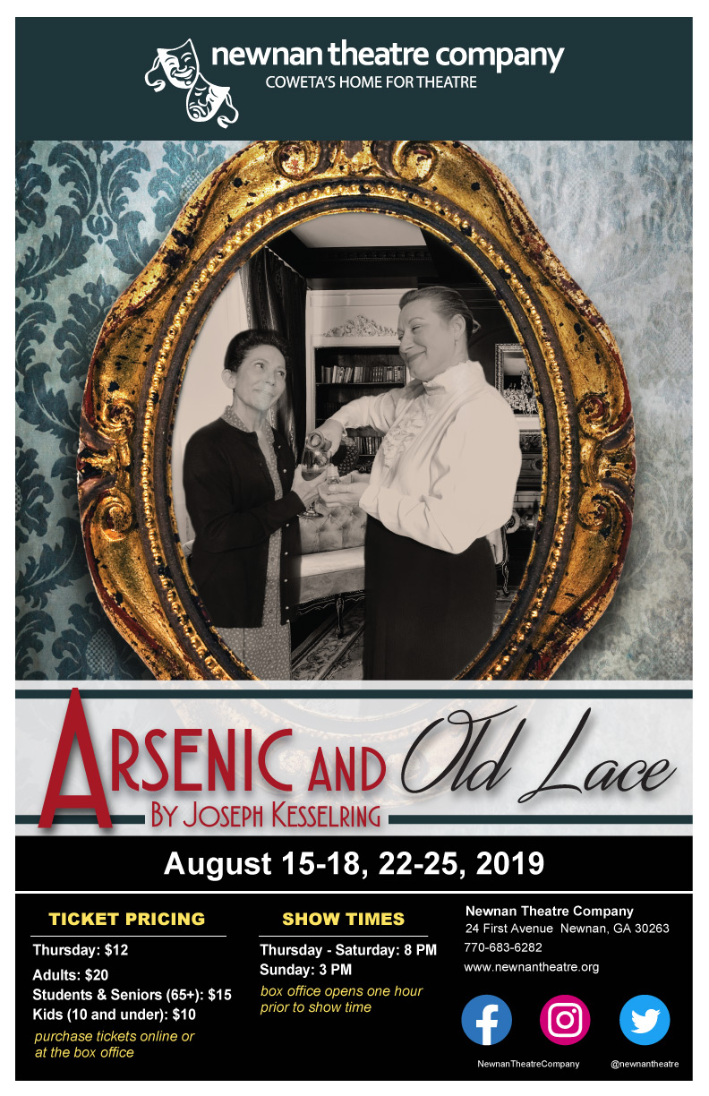 nic and Old Lace — Newnan Theatre Company Old Home Theatre Design on old spanish design, old french design, old leather design, old games design, old english design, old world design, old interior design, old hospital design, old hawaii design, old factory design, old home design, old church design, old tavern design, old hollywood design, arsenic and old lace set design, old german design, old restaurant design, old fire station design, old library design, old athletics design,