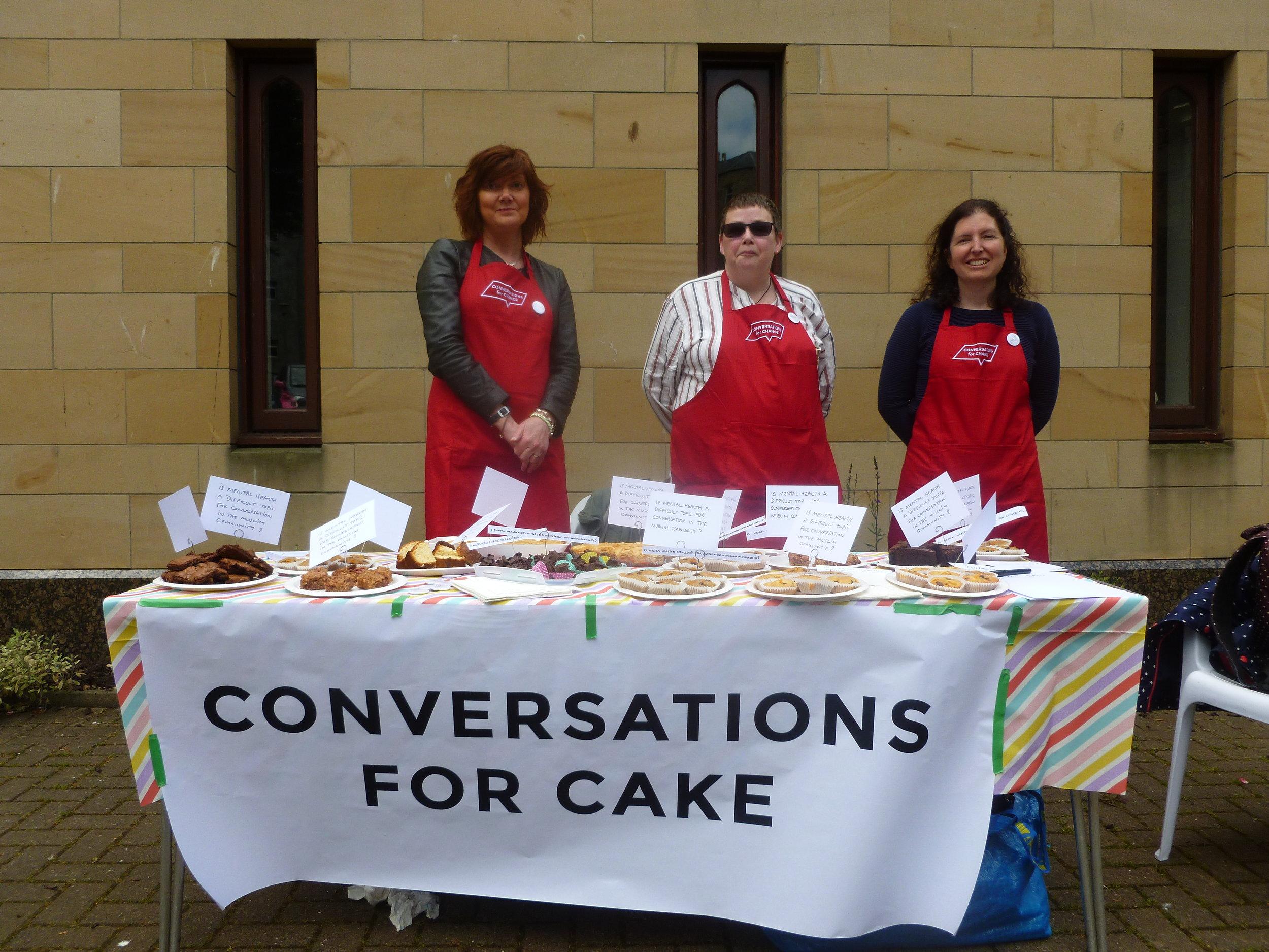 Conversations for Cakes, Edinburgh Central Mosque