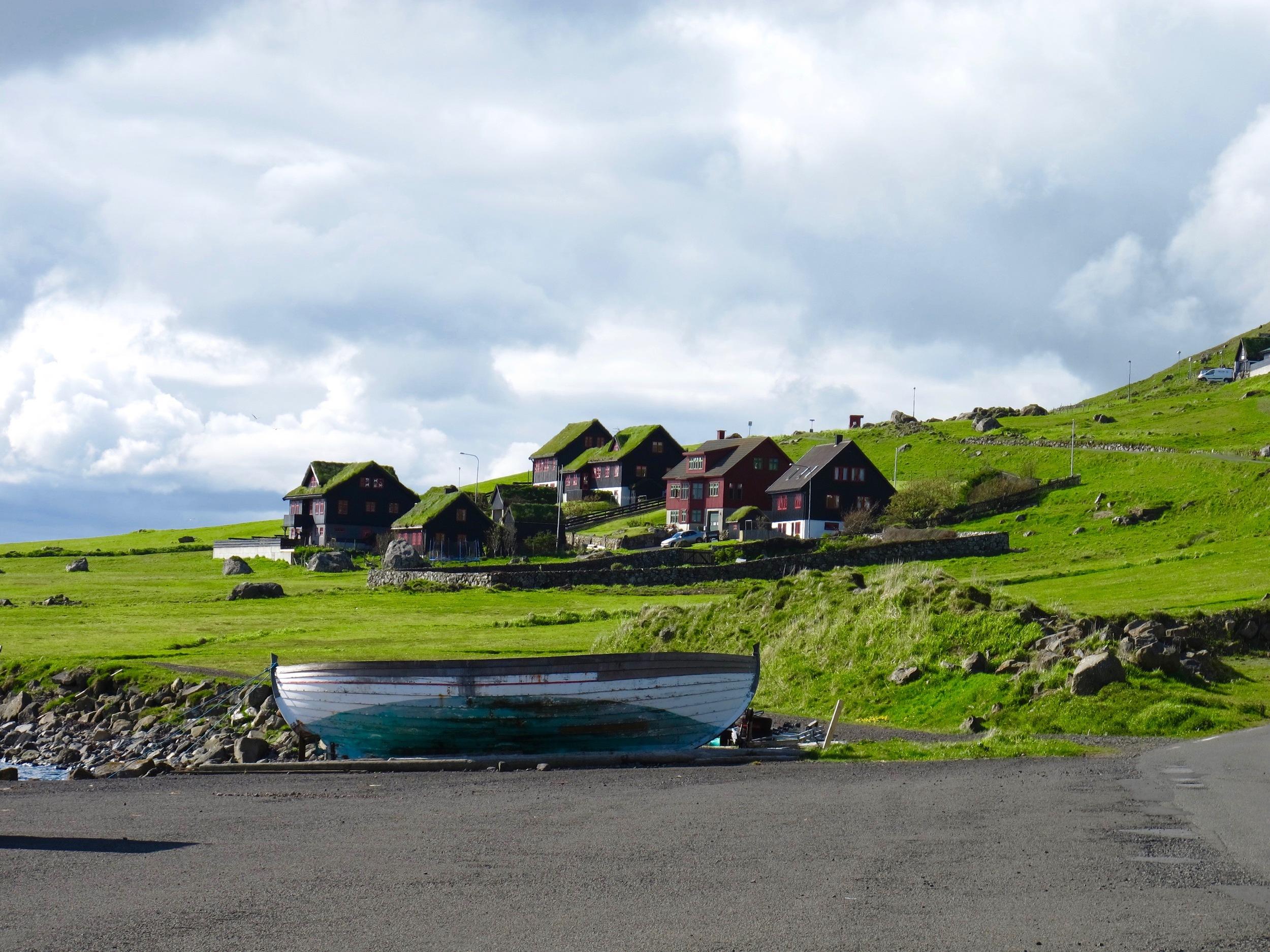 Scenery at Kirkjubøur. Restaurant KOKS will be based in the village
