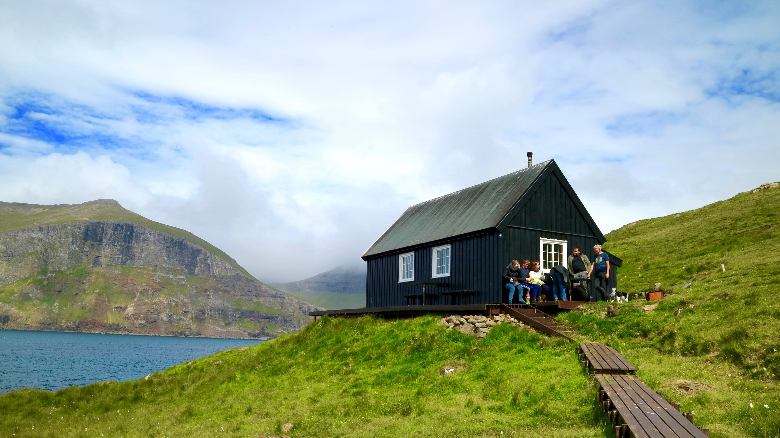 Check out  mykines.fo . There might be a guided tour available, depending on the season