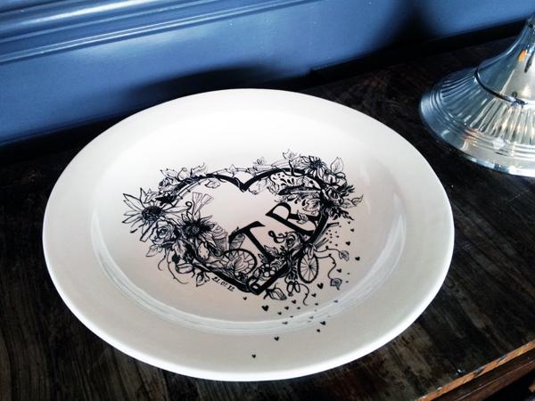 wedding-plate
