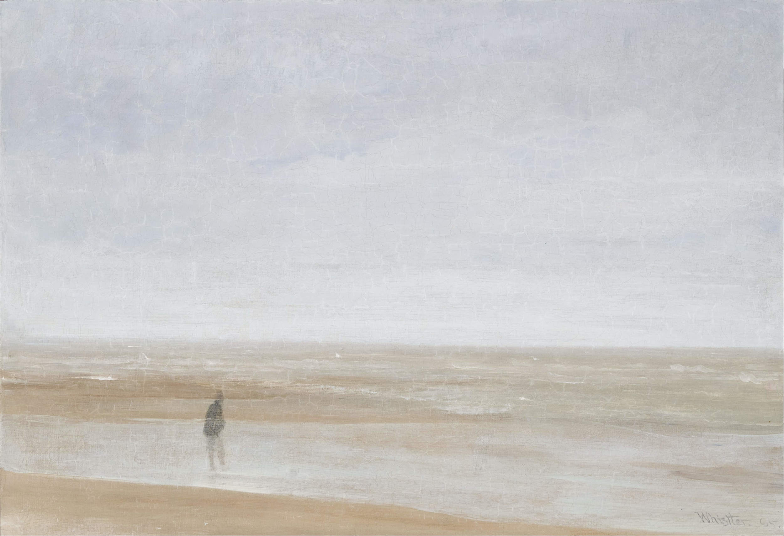 Sea and Rain,  James McNeill Whistler (1865, France)