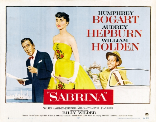 "Inspired to watch the classic ""Sabrina"" (for the wardrobe alone!)."