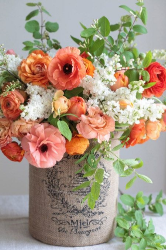 My favourite  Pinterest  flower arrangement this week.