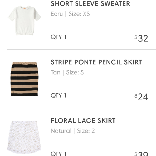 Anxiously awaiting for the arrival of my new  Joe Fresh   Spring staples .