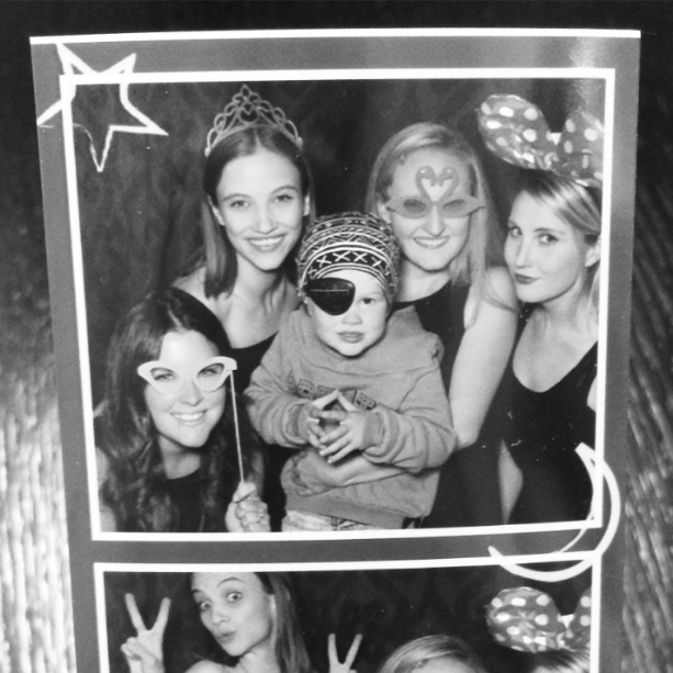 Photo booth fun at the  Luna Dance Company  Grand Opening!
