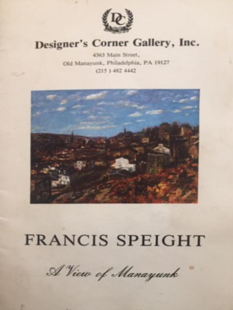 Francis Speight Retrospective