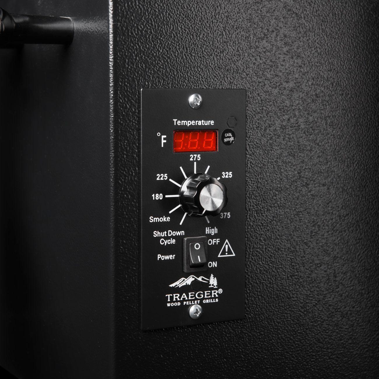 LED Digital, Multi-Position Thermostat Control
