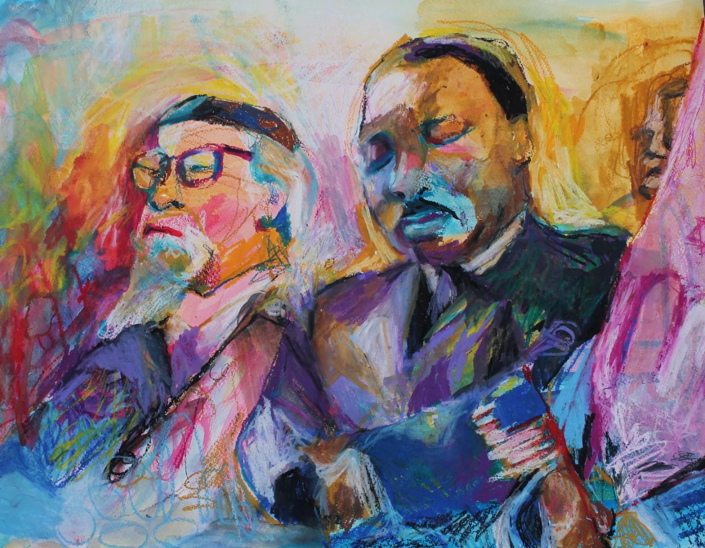 Heschel-King Canvas -