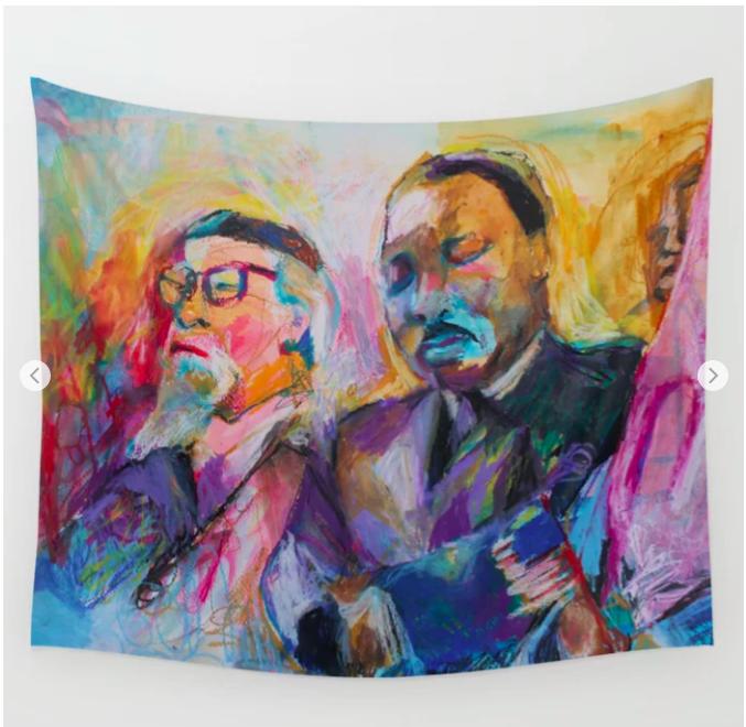 Heschel-King Tapestry -