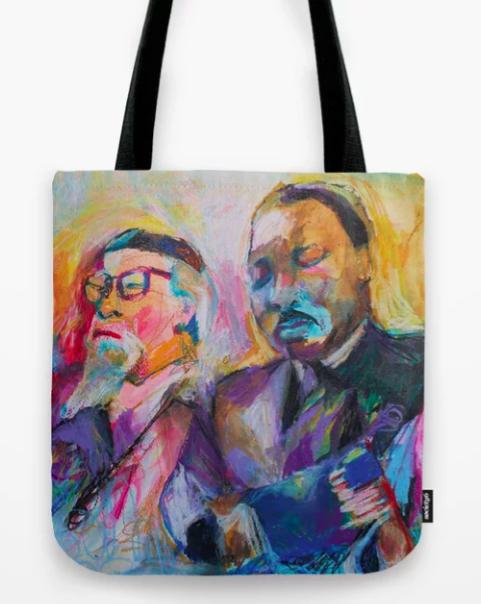 Heschel-King Tote Bags -