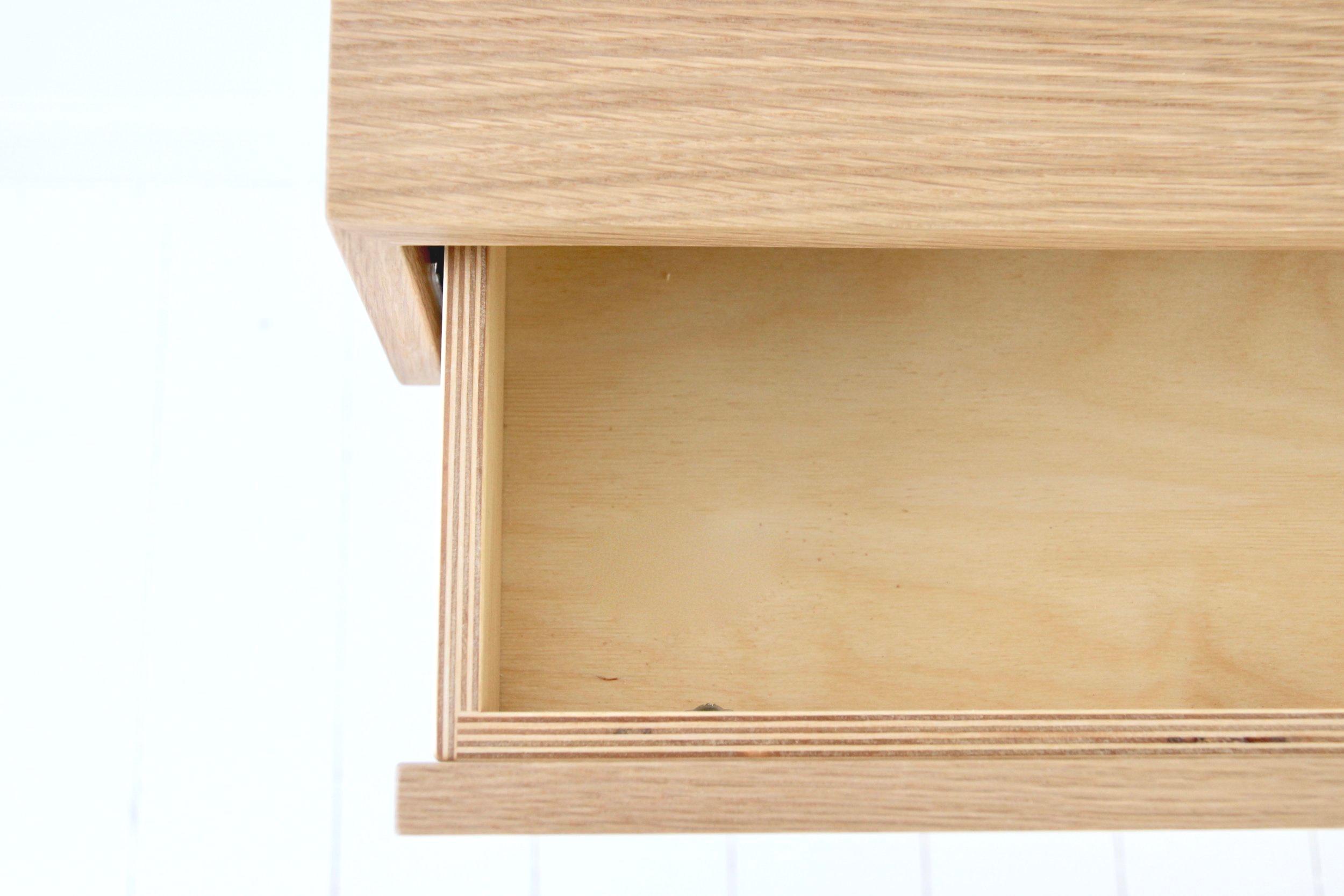 walnut floating desk 5wjnl