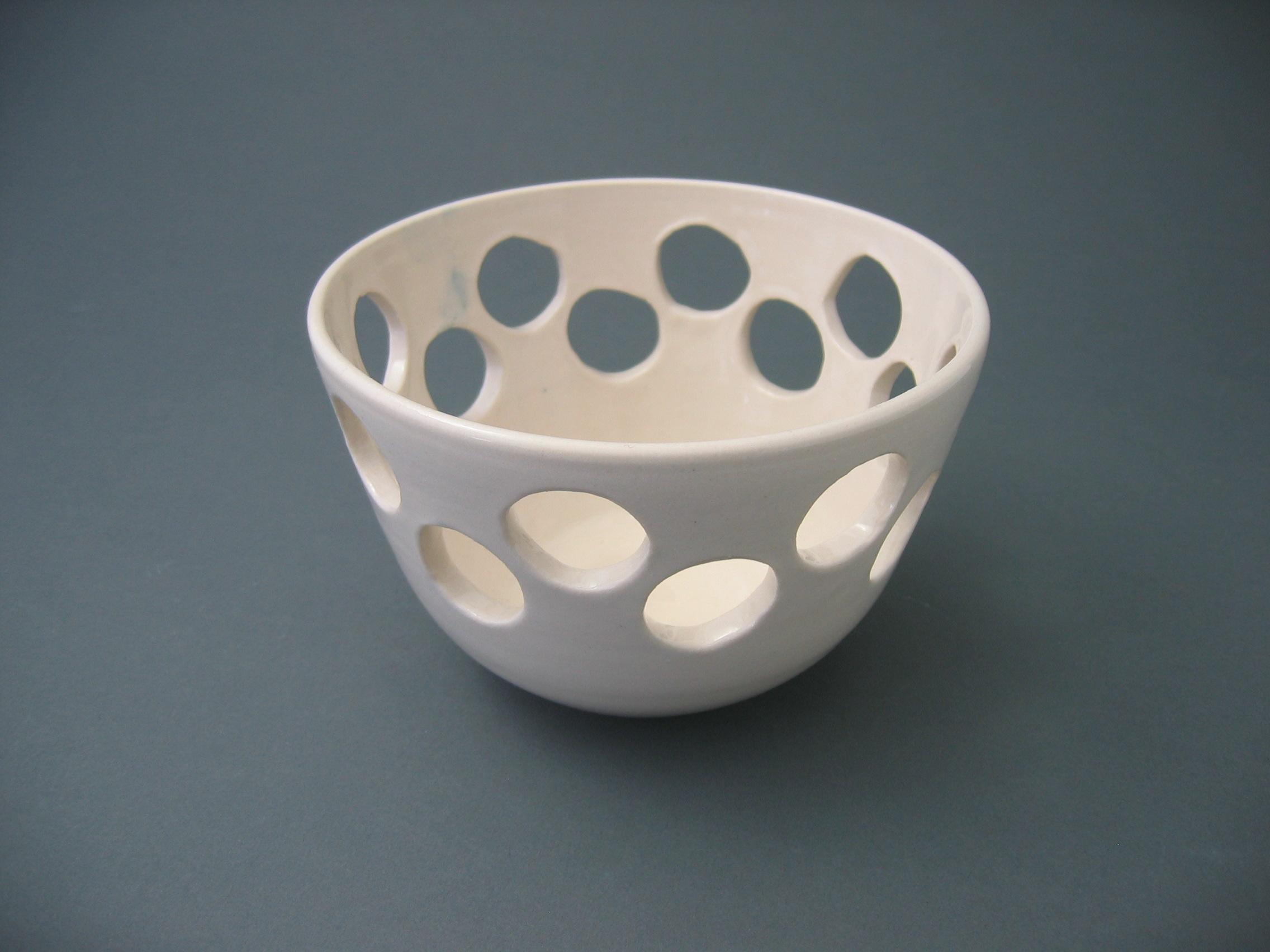 Holey bowl
