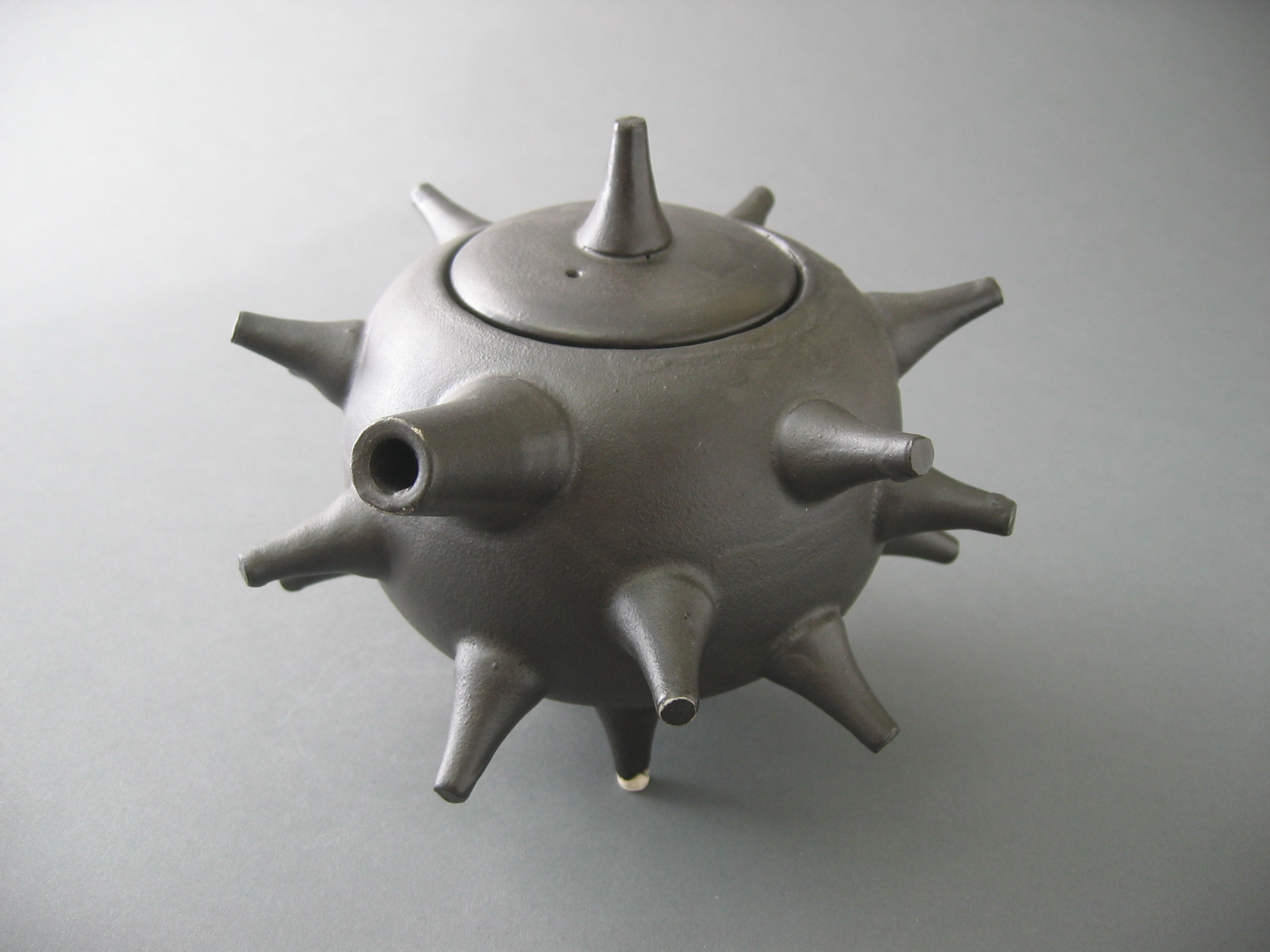 Black Spike Tea pot $160