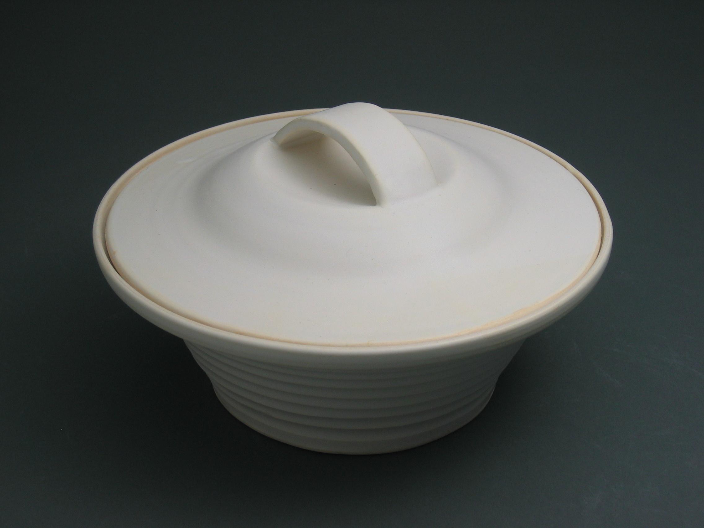 White Casserole $65