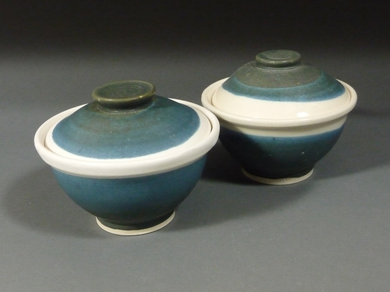 2 Covered bowls $45 each