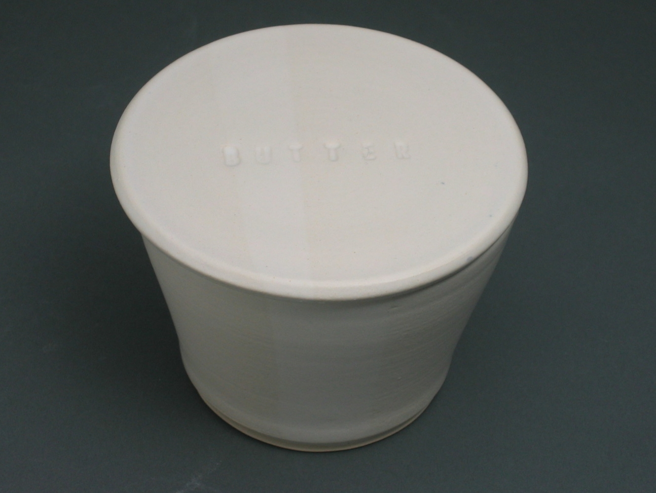 White French Butter Keeper $40