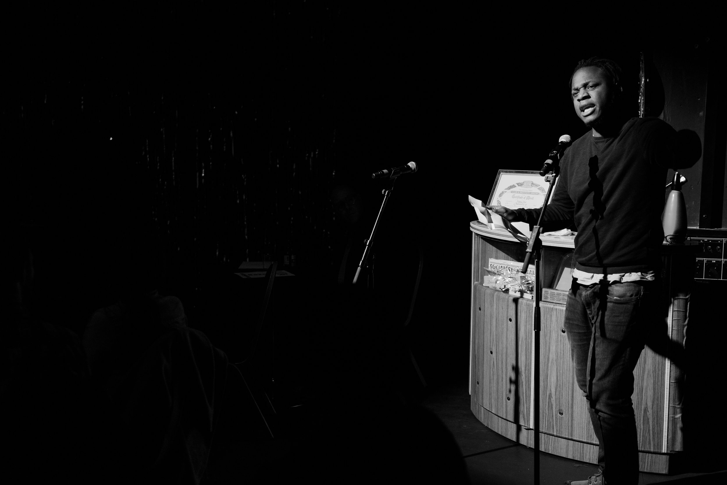 John Akinde - Spoken Not Stirred - Meat Raffle