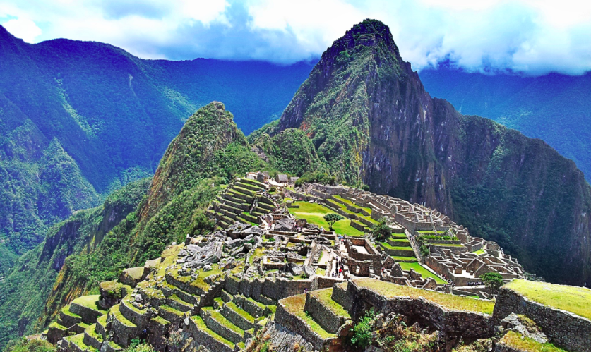 HEATHER LANG DANCER DOUBLE OR NOTHING MACHU PICCHU